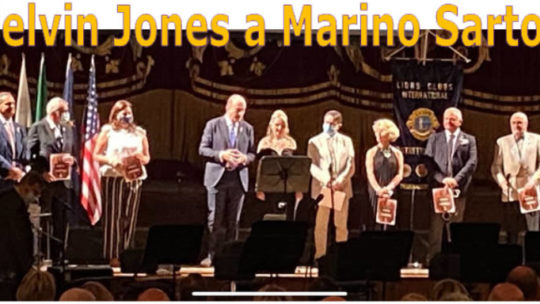 Melvin Jones Fellow a Marino Sartori